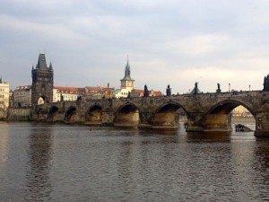 Charles Bridge view